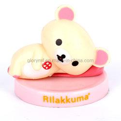 Nette Schlaf-Bären-Plastikabbildung Spielzeug für Kinder