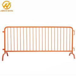 イベントの交通安全の塀のための2000*1000mmの金属の群集整理の障壁のゲートに塗る粉