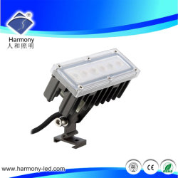 Epiatar 6*1 Вт Белый Мощный светодиодный светильник с видом на сад с остроконечными зубьями