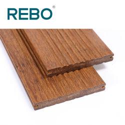 Cheap Bamboo carbonisé decking de plein air de la nature des revêtements de sol
