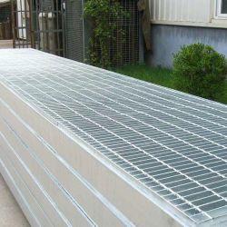 Vaciar el piso de metal galvanizado en caliente de la barra de antideslizante Peso de la rejilla de acero