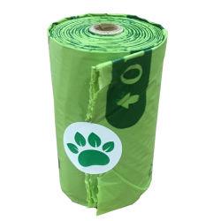 Compostável certificadas biodegradáveis de amido de milho resíduos Pet cocô de cachorro Bag