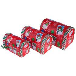 맞춤형 수제 경식 선물 상자 패스트 푸드 포장 상자, 테이크어웨이 종이 상자, 티/커피 프린팅 포장 상자, 캔디 케이크 초콜릿을 위한 우아한 크리스마스 선물 세트