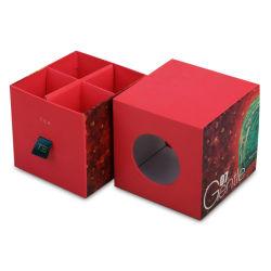 Impressão personalizada de divisor de papel Inserir Conjunto Chá Embalagem gaveta deslizante Caixa de oferta