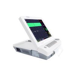 2.2.68 Shenzhen Ossen 7 بوصة مستشفى المريض Tabletop Multi-Parameter Fetal مراقبة مخطط القلب الكهربائي