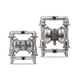 Pompa alternativa a tamburo pneumatico in gomma per liquidi corrosivi