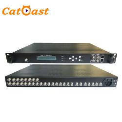 8 DVB-T Isdbt DVB-C ATSC RF 변조기에 CATV 16 FTA DVB-S2