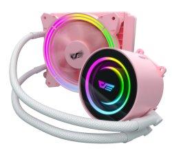 Tr120 de Roze Radiator van Heatsink van het Geval van de Computer van de Kleur hight-Efficiënte