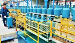 Cilindro de gas Gas equipos de la línea de producción