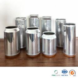 Fabricant de bière fournisseur personnalisé vierge ou imprimé époxy ou norme Bpani doublure 330ml, 355ml, 473ml, 500ml aluminium peut Crowler