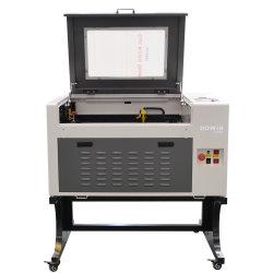 Logo de bois bon marché graveur CNC Machine de découpe en plastique laser CO2 80W de la machine de coupe