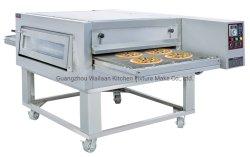 Cinta transportadora de gas de 32 pulgadas pizza horno de convección