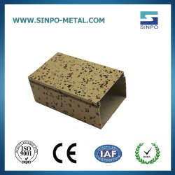 Puder-2020 überzogenes quadratisches Aluminiumgefäß des heißen des Verkaufs-7001 7075-T5