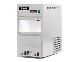 ラボ用 Snowflake ポータブル自動産業用ステンレススチール製デスクトップ用四角丸 チューブ・コマーシャル・アイス・キューブメーカー、フレーク・ブロック・アイス・マシンを製造