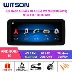 Witson Android 10 4G 64G автомобильной аудиосистеме мультимедиа для транспортирования B Class W246 B180 B200 B220 B250 B260 Ntg4.5/ Ntg 5.0 GPS аудиосистемы автомобиля