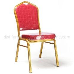 Hot Sale de haute qualité métal empilable Banquet Meubles de salle à manger chaise