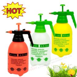 Resistentes a produtos químicos de esterilização de desinfecção por compressão Watering jardim de flores de neblina de água de limpeza do pulverizador de pressão garrafa spray (HT-2L)