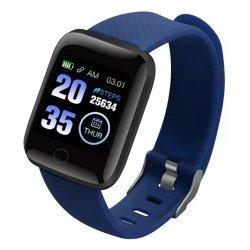 Sports podomètre pour la marche montre sport 116 PRO Smart Bracelet Bracelet intelligente de l'écran couleur de l'exécution Tracker de fréquence cardiaque