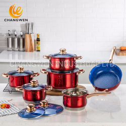 Оптовая торговля Неприлипающий из нержавеющей стали кухонные приспособления для приготовления пищи посуда