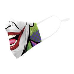 Heiße Drucken-Mund-Gesichtsmaske des Verkaufs-Baumwollgewinde-3D