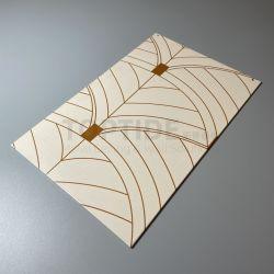 طباعة ألومنيوم / ألومنيوم لوحة بناء السقف التزيين الجدران المادة