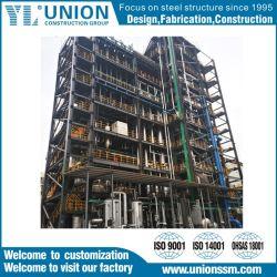La nueva estructura de acero de construcción de equipos de los recursos energéticos