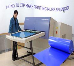Piatto positivo di alta stampa offset fotosensibile UV-CTP del fornitore 0.15/0.20/0.25/0.30/0.40mm del Henan per la stampa di Commerical e la stampa dell'indicatore luminoso