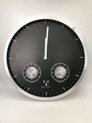 ラジオ付き時計は Home Decoration プロモーションギフトクロックでご利用いただけます ムーブメントホームオフィスデコレーションシンプルラウンドデザインウォールクロック