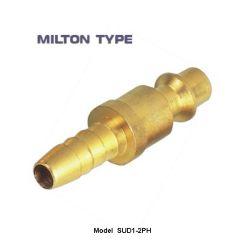 Qualidade elevada Milton, Estados Unidos da Conexão Farpada de Mangueira de Conexão Pneumática, Bujão