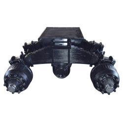 Sistema de suspensión del eje de 24t de la suspensión de la plataforma giratoria