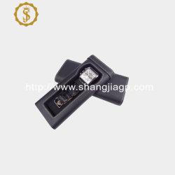 China Factory montre-case en cuir noir de haute qualité