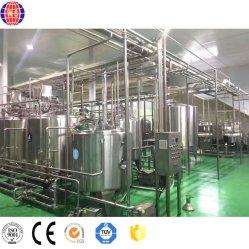 신기술 우유 처리 공장 유제품 생산 라인