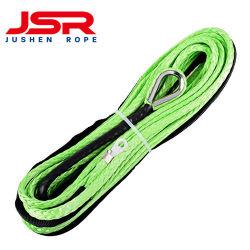 El doble de alta resistencia/Hmpe UHMWPE sintético trenzado de cuerda del cabrestante para el amarre de embarcación costa afuera de la cuerda de remolque