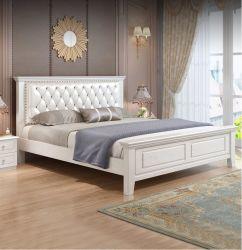 2011년 새로운 스타일의 솔리드 우드 싱글 베드, 심플하고 부드러운 현대적인 디자인 더블 침대