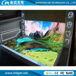 P2 basse consommation mur vidéo LED, pleine couleur arrière-plan d'affichage numérique DEL intérieure pour faire du shopping mall