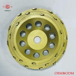 PCD 다이아몬드 에폭시, 페인트, 접착제 제거를 위한 가는 컵 바퀴