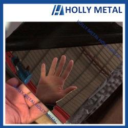 304 de la placa de la hoja de acero inoxidable acabado espejo decoración ascensor