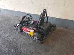 중국 내 Gold 공급자 2인승 Electric Go Kart 놀이터 레이싱 게임 성인 Go Kart 판매