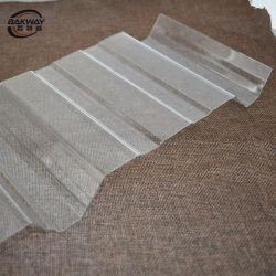 Techos de policarbonato plástico corrugado plástico de policarbonato de hoja de Materias Primas para gases de efecto