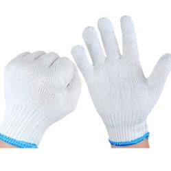 Polyester-Zwischenlage-Baumwolle gestrickte Handschuhe für Arbeitskräfte