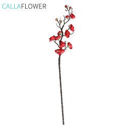 Pflaume-Blüte simulierte Kirschkünstliche Blumen für Hauptdekoration MW36856