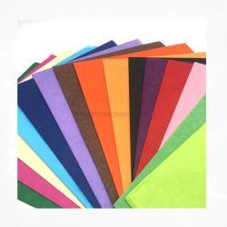 Blume Verpackung Tissue Papier, Verpackung Kleidung Personalisiertes Papier farbige Geschenk 17 GSM gedruckt Logo Verpackung Personalisiertes Tissue Papier