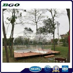 PVC透過キャンプの膨脹可能な泡テント