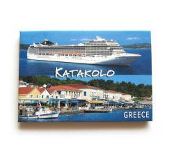 Qualitäts-preiswertes kundenspezifisches Firmenzeichen-touristischer Andenken-Kühlraum-Magnet