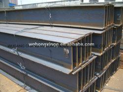 L'acier I-Beam /Tailles de poutres en acier/ poutres de fer pour la construction S235JR-S355J2