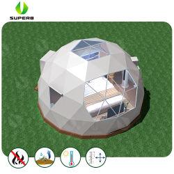 2018 Nova 6M personalizado Dome Prefabricadas Geodésico House tenda para piscina Hotel Camping e Glamping