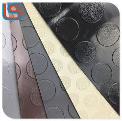Desenho do Círculo em PVC Piso Non-Slip artificial de Rolo com saída de fábrica
