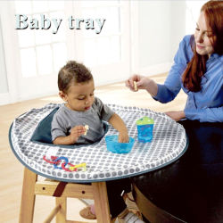 Cadeira alta de bebé Bandeja, arrumados Tot Kit Bandeja. Ideal para o LED de Bebé desmame e a confusão de jogar