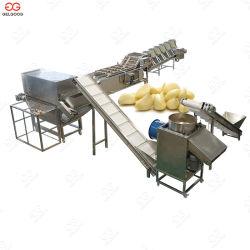 Type de chaîne automatique de l'ail Peeling gamme de machines de séparation