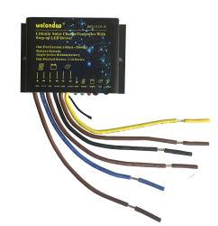 regolatore solare dell'indicatore luminoso di via 15A con 10 serie del LED di tensione chiara 50V del ripetitore